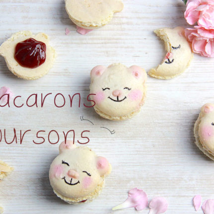 Les macarons oursons