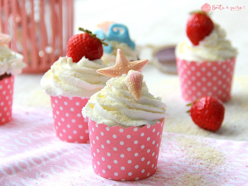 Cupcakes été de Gabriella la boîte à sucre