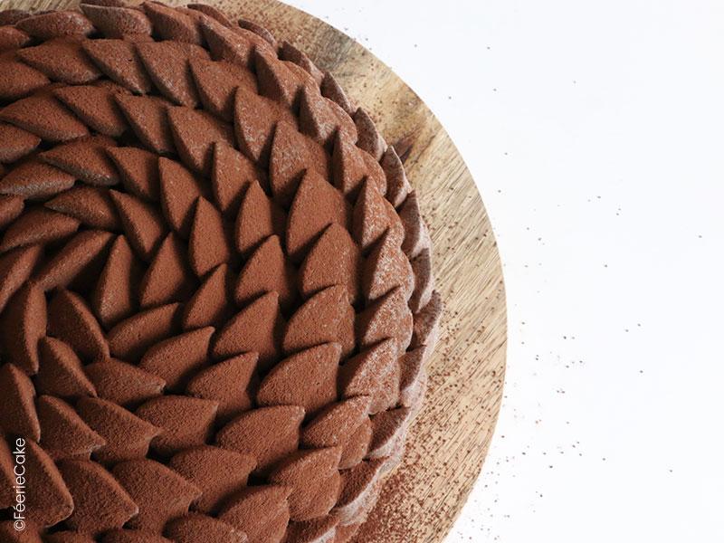 Top 10 des meilleures recettes de gâteau au chocolat : Recette de l'entremets chocolat noisette caramel