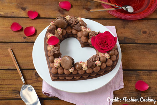Heart Cake by Fashion Cooking