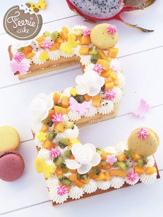 Number Cake Féerie Cake