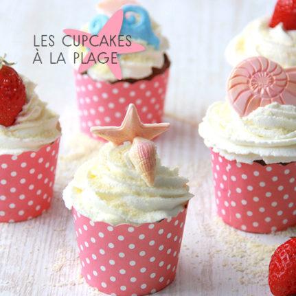 Les cupcakes à la plage