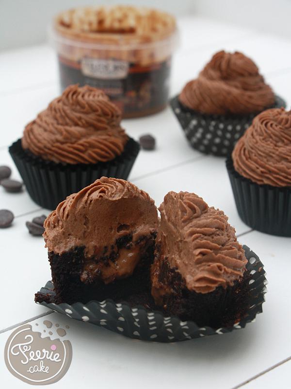 Cupcakes praliné feuillantine
