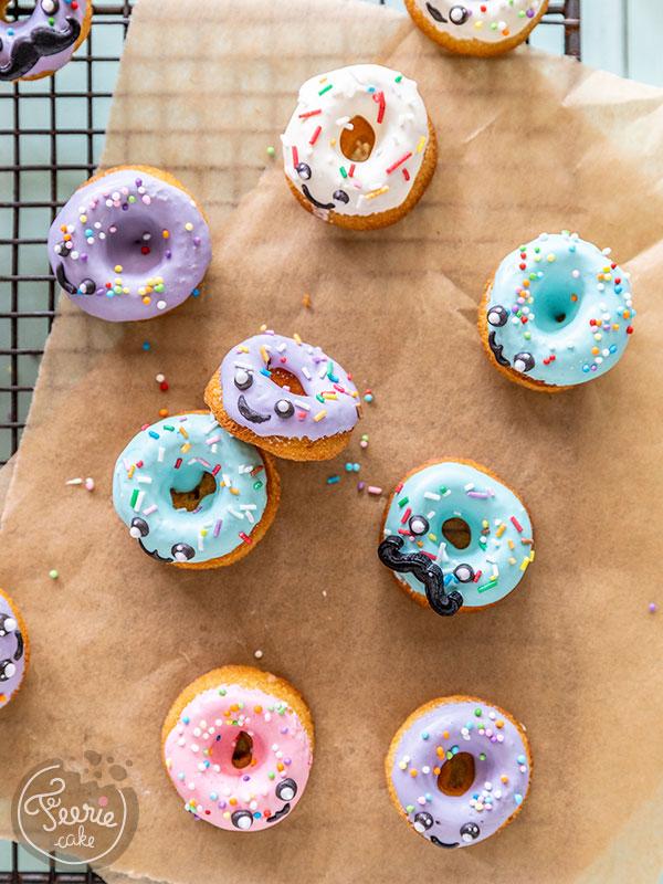 Recette mini donuts Kawaii