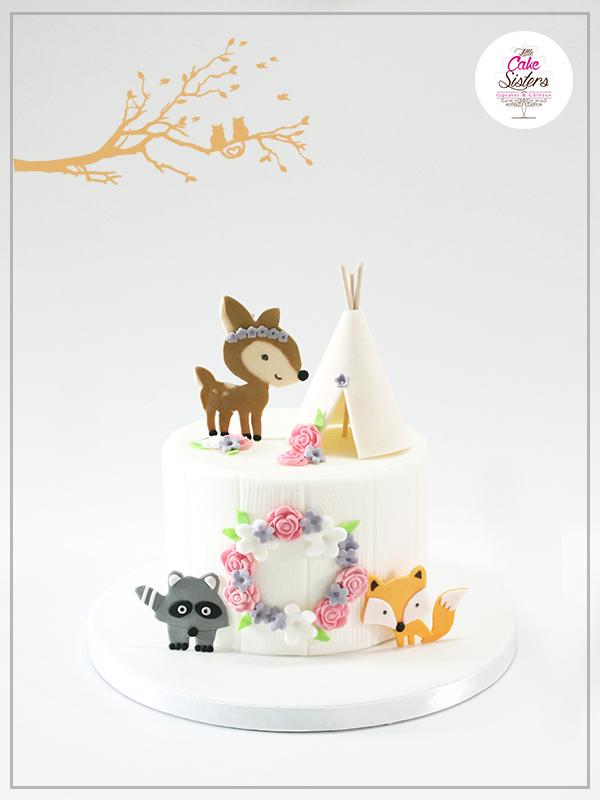 Gâteau final et monté