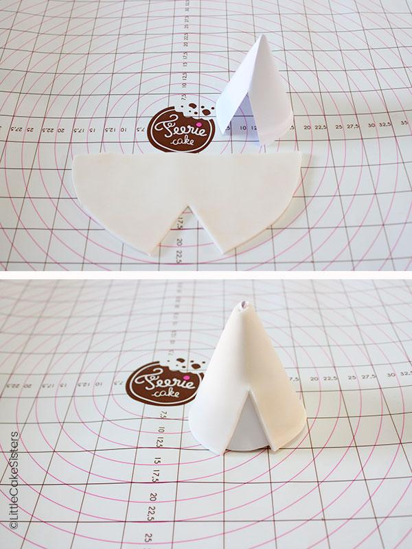 Modelage de pâte à sucre sur le thème de la nature
