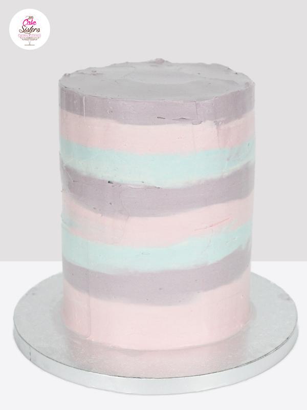 Base du gâteau (molly cake) pour le gâteau en pâte à sucre sur le thème des sirènes