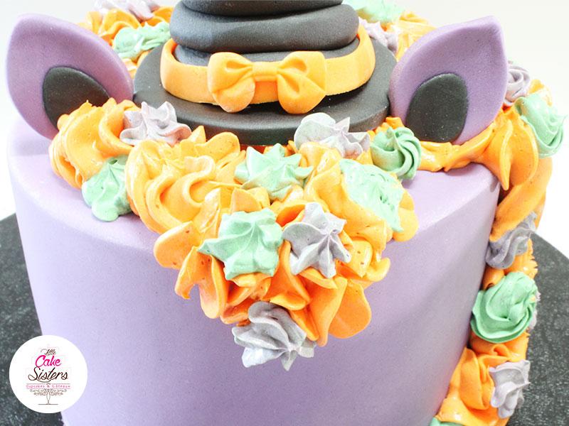 Crinière de la licorne pour le gâteau Sorcière Licorne pour Halloween