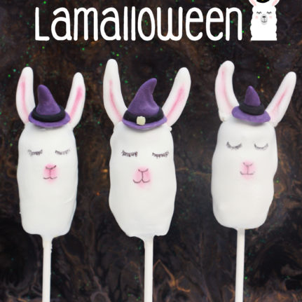 Cake pops Lamalloween