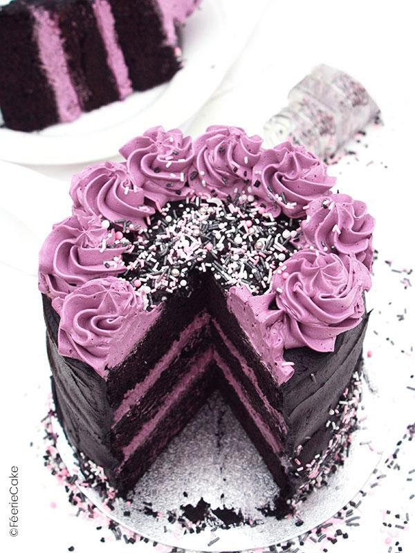 Top 10 des meilleures recettes d'Halloween : Le Layer Cake Purple Rain