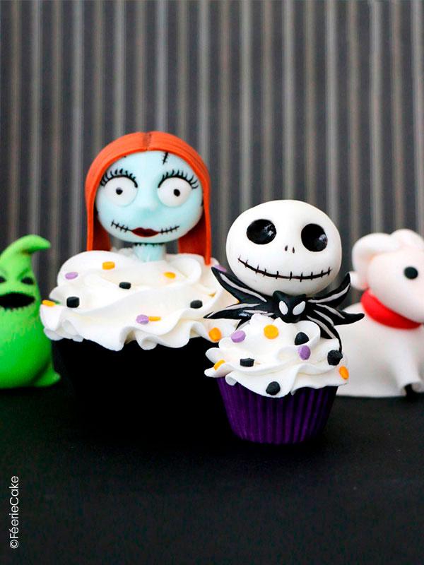 Top 10 des meilleures recettes d'Halloween : Les cupcakes de l'étrange Noël de Monsieur Jack