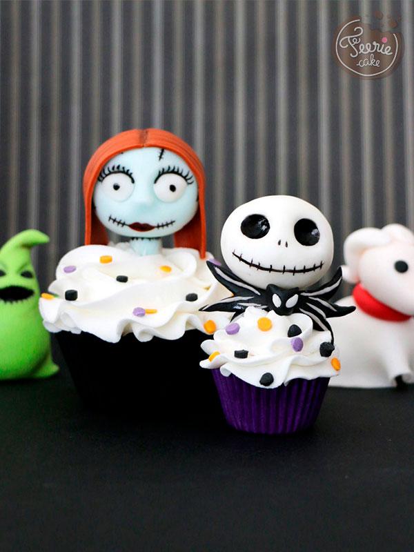 Top 10 des meilleures recettes d'Halloween: Les cupcakes de l'étrange Noël de Monsieur Jack