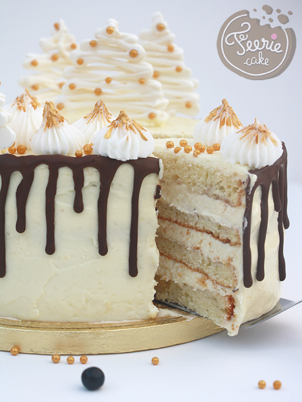 Layer drip cake coco part