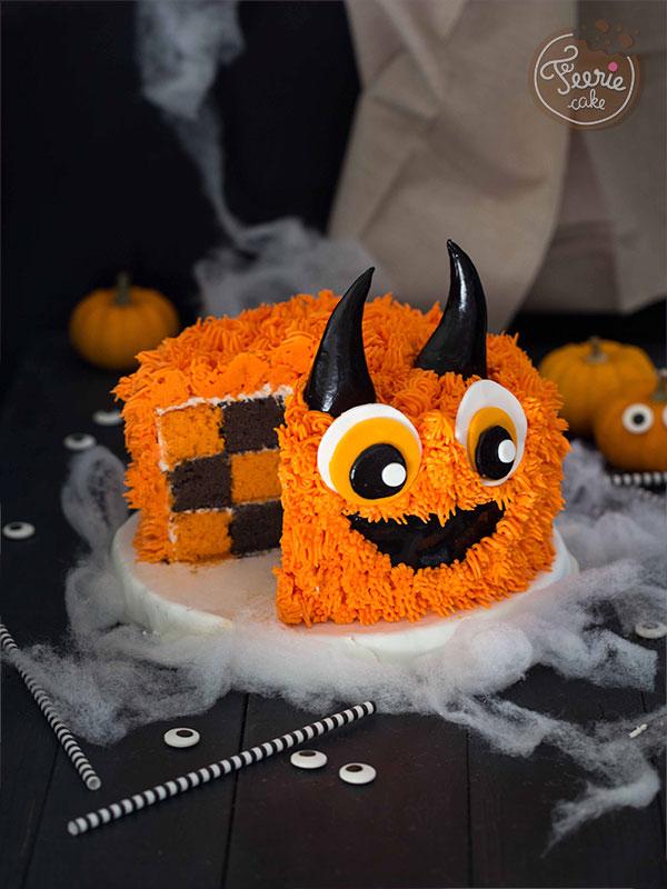 Top 10 des meilleures recettes d'Halloween : Le Monstre Damier