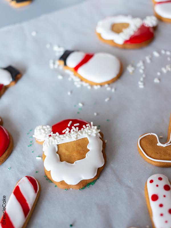 Remplissage et décoration des biscuits
