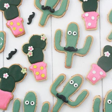 Biscuits cactus aïe caramba !