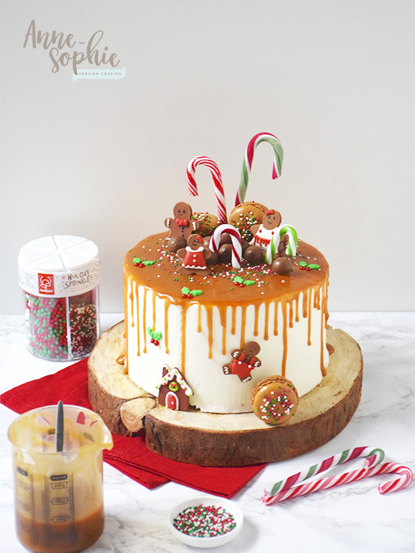 Drip Cake de Noël de Fashion Cooking