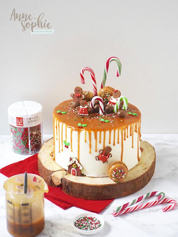 Drip Cake de Noël de Fashion Cooking