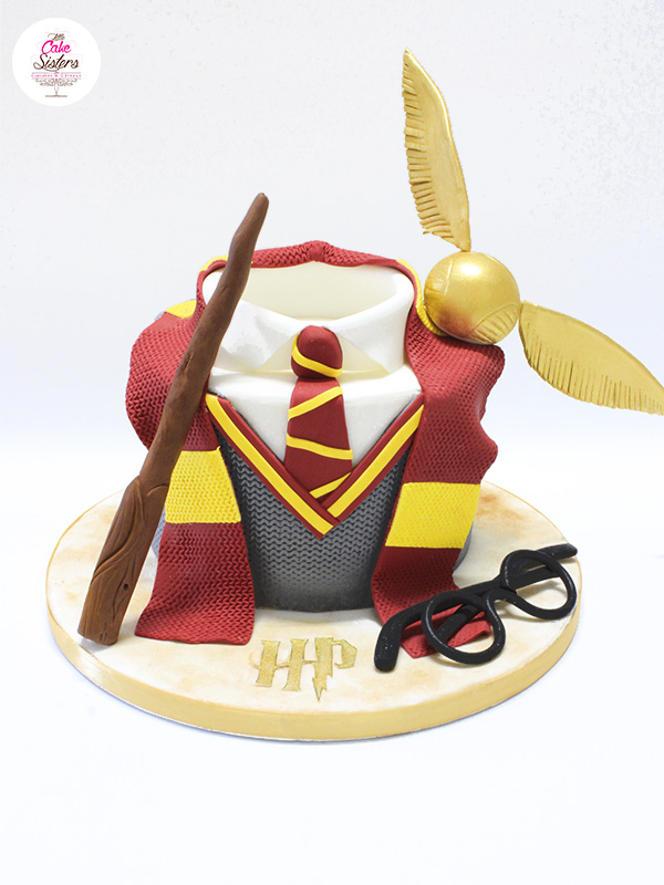 Tuto Cake Design Gateau Harry Potter Feerie Cake