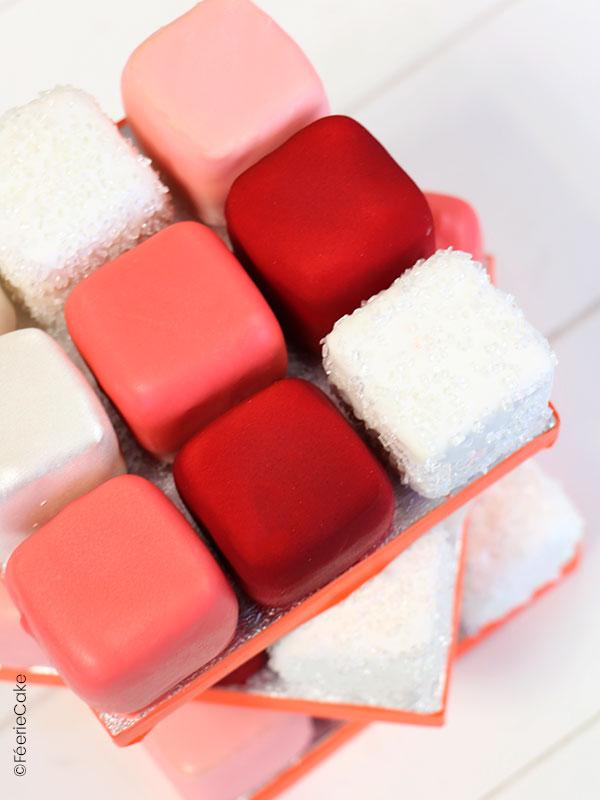 Rubiks Cake Pâtissier pour la Saint Valentin