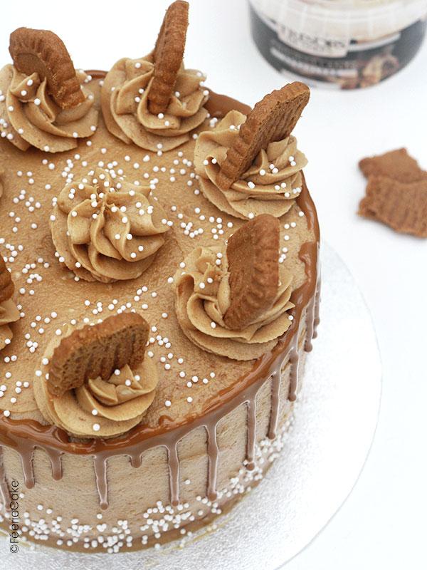 Layer Cake au caramel et au speculoos