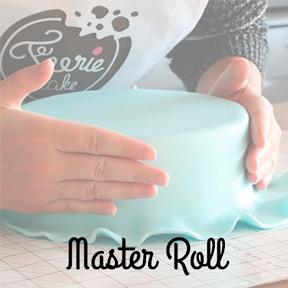 La pâte à sucre prête à dérouler : La Master Roll