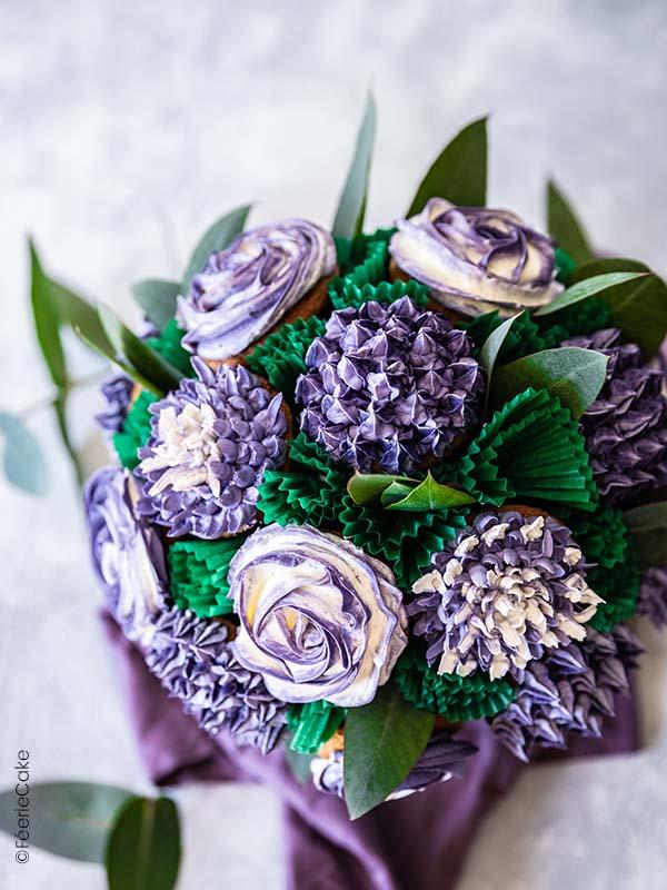 Joli bouquet de cupcakes