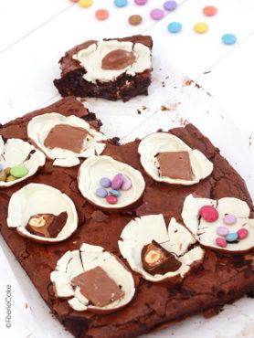 Brownie de Pâques