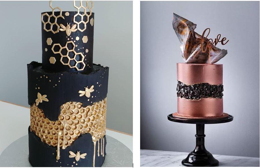 2 Fault line cakes