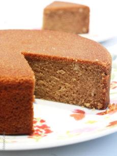 Gâteau végétalien à l'amande
