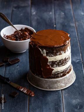 Le glaçage au chocolat
