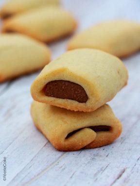 Sablés coeur chocolat façon Kango