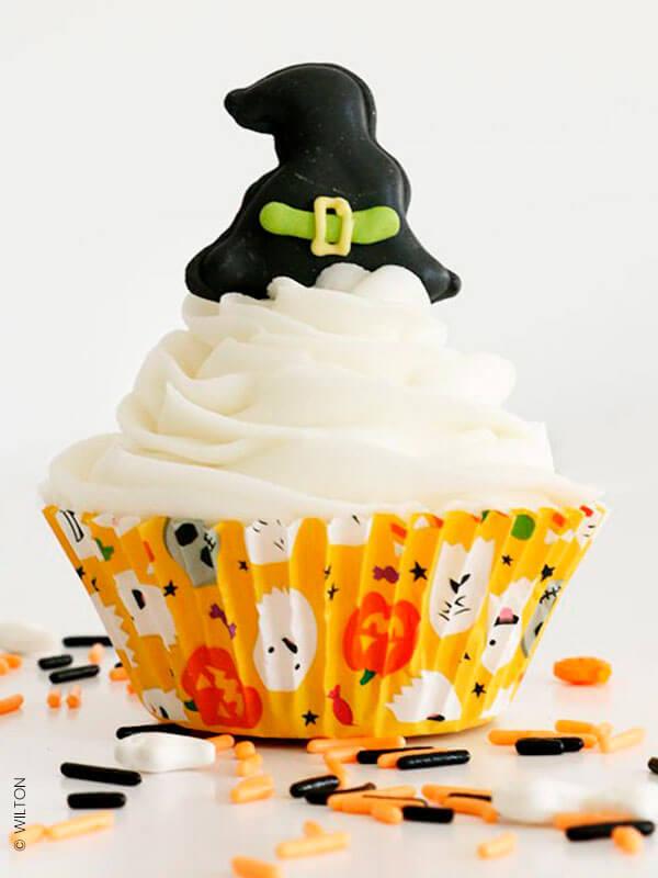 """Les caissettes à cupcakes """"Halloween"""""""