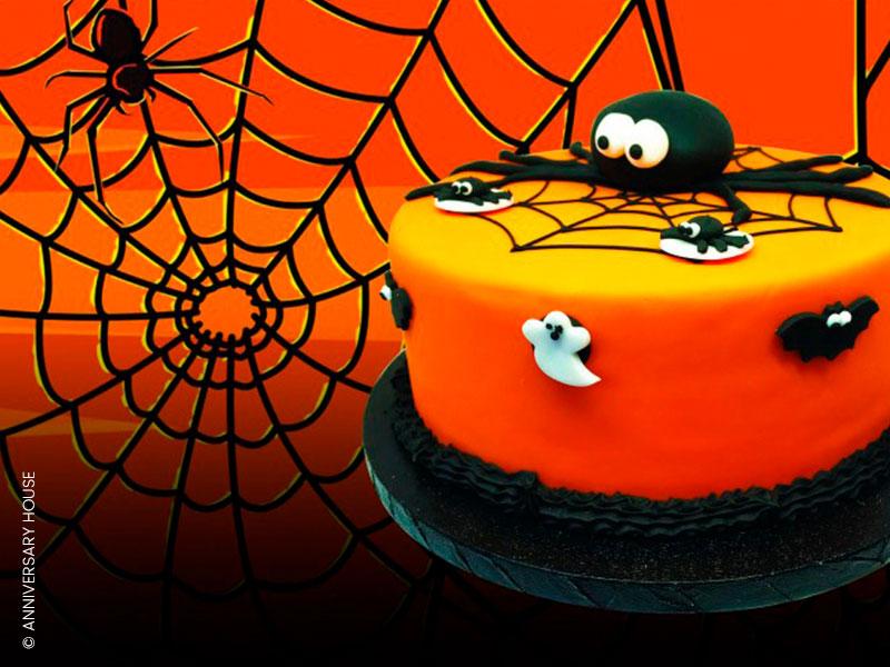Les décors en sucre araignées, chauve souris et fantômes