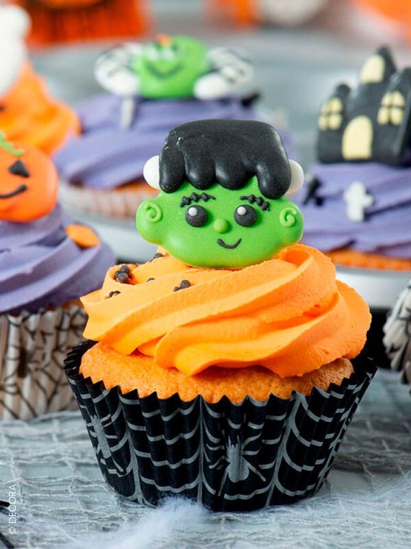 Le décor en sucre Frankenstein