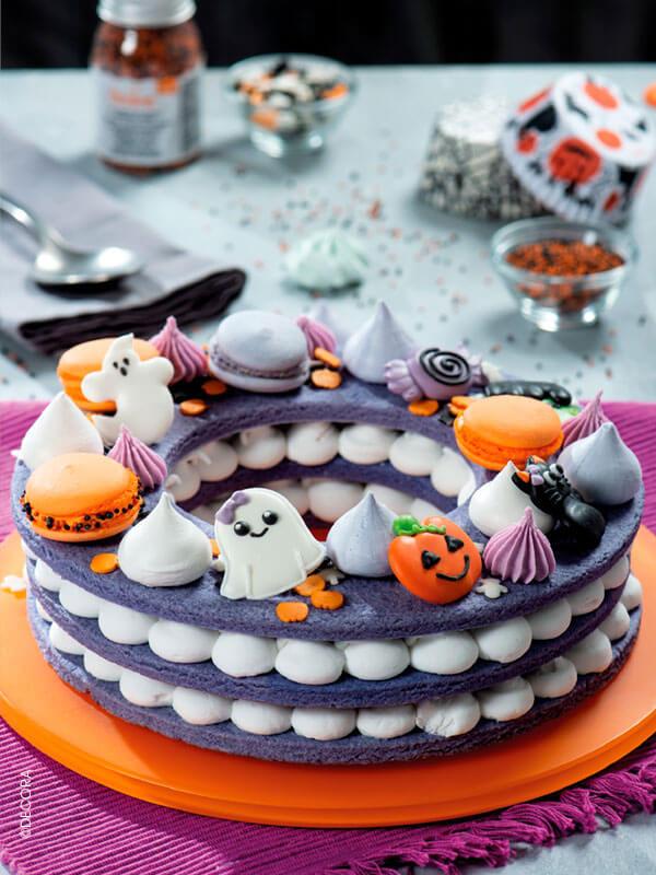 Les décors en sucre d'Halloween