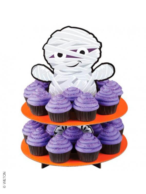 Le présentoir à cupcakes momie