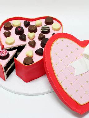 Candy Cake Box de l'Amour