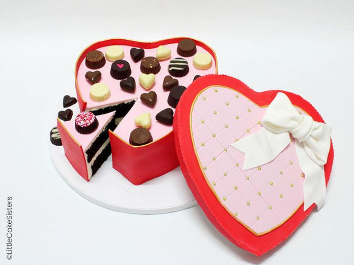 Positionnez vos chocolats sur votre gâteau