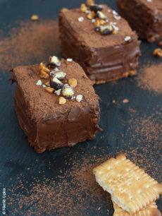 photo gateau petit beurre chocolat