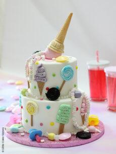 Gâteau «Retour en enfance»