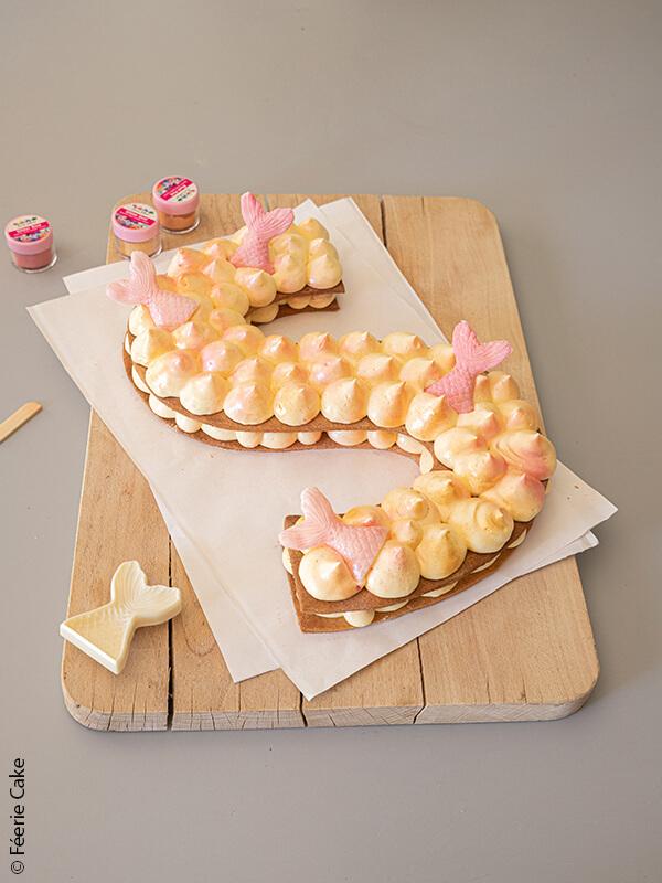 photo symbol sirene cake deco