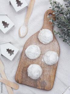 Cookies boules de neige (Snowball cookies)
