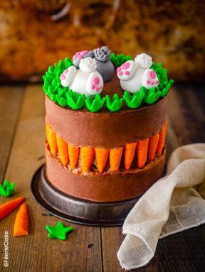 Le faut line cake de Pâques