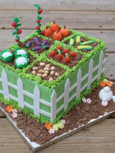 Le potager de Pâques de Vanessa @Little Cake Sisters