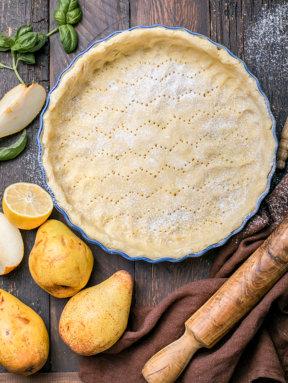 La pâte sucrée pour fond de tarte