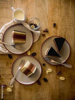 L'entremets aux trois chocolats