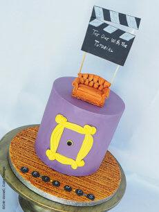 Le gâteau Friends