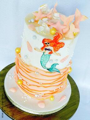 Le gâteau La petite sirène de CreAnne C