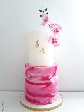 Le wedding cake en pas-à-pas de LC. Pastry